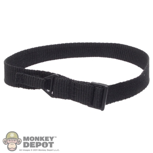 Belt: Easy & Simple Black Riggers Belt