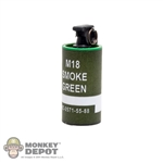 Grenade: Easy & Simple M18 Green Smoke Grenade