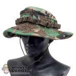 Hat: Easy & Simple Woodland Boonie Cap