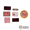 Insignia: Easy & Simple ZERT Sully Patch Set