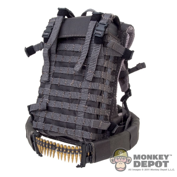 Monkey Depot Pack Easy Amp Simple Ammo Backpack Mico Belt Fed