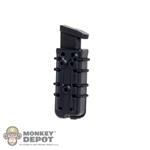 Holster: Easy & Simple Black Scorpion Pistol Mag Holster Pouch
