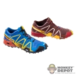 Shoes: Easy & Simple Contrast Color Speed Cross 3 Hiking Boots