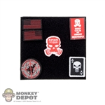 Insignia: Easy & Simple Black Jack Patch Set