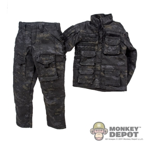 Uniform: Easy & Simple Black Multicam