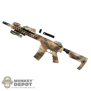 Rifle: Easy & Simple AR-15 Assault Rifle w/Sights & Lights