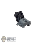 Sight: Easy & Simple Two Toned Backup Rear Folding Sight