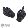 Hands: Easy & Simple Black Molded Tactical Gloves