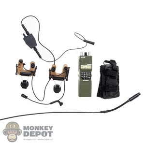 Radio: Easy & Simple PRC-152 w/Comtac4 Headset System & PTT & Pouch