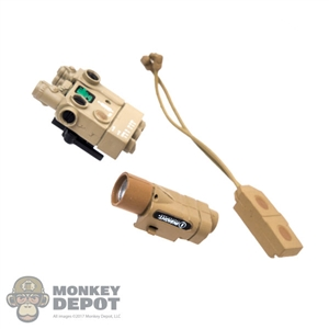 Sight: Easy & Simple Insight PEQ w/M3X Tactical Light & Dual Pressure Switch