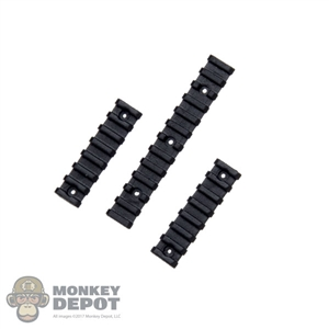 Tool: Easy & Simple 3 Piece Black Rail Panels