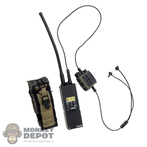 Radio: Easy & Simple PRC-148 w/Headset System, QuitePro PTT & Pouch