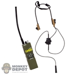 Radio: Easy & Simple PRC-152 Radio w/Dominator Tactical Headset& PTT