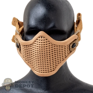 Mask: Easy & Simple Mens Tan Tactical Protective Mask