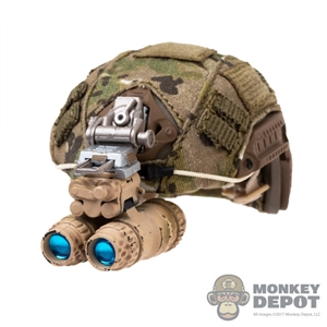 Helmet: Easy & Simple FAST Ballistic Maritime Cut w/L4G24 NVG Mount & AN/PVS-15 NVG