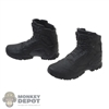 Boots: Easy & Simple Blacked Out Molded Tactical Boots