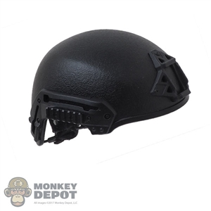 Helmet: Easy & Simple Black Exfil Helmet