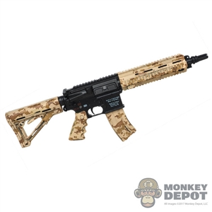 Rifle: Easy & Simple HK416 Assault Rifle