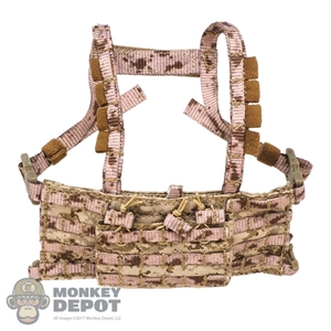 Vest: Easy & Simple AOR1 2586A Triple Pouch DG Low Profile Chest Rig