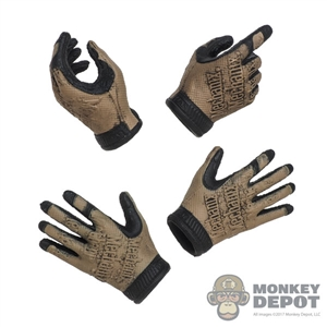 Hands: Easy & Simple Two Toned Molded Tactical Gloved Hands