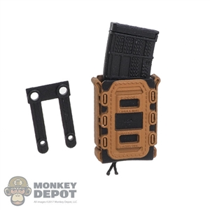 Pouch: Easy & Simple Polymer TACO Rifle Mag Carrier (Ammo Not Included)