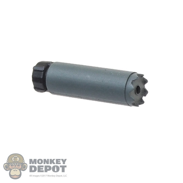 Black  Blackout 5.56 1//6 scale toy SUPPRESSOR