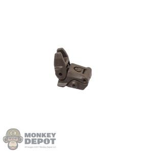 Sight: Easy & Simple Brown Backup Front Folding Sight