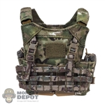 Vest: Easy & Simple Multicam LV MBAV Plate Carrier w/Chest Rig