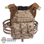 Vest: Easy & Simple Navy Jumpable Plate Carrier