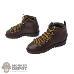Boots: Easy & Simple Leather-Like Mountain Light Boots