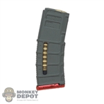 Ammo: Easy & Simple Grey + Red PMag