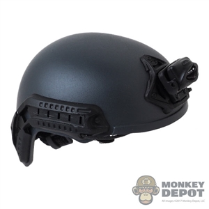 Helmet: Easy & Simple Mens Grey FAST Ballistic Helmet