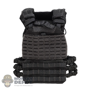 Vest: Easy & Simple Mens Grey TacTec Plate Carrier