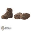 Boots: Easy & Simple Brown/Tan Molded Tactical Boots