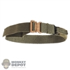 Belt: Easy & Simple Mens OD Green Cobra Riggers Belt