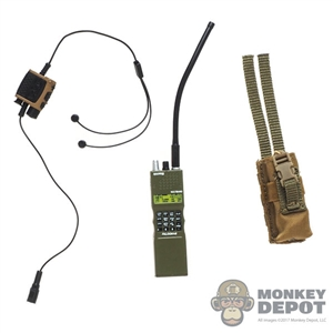 Radio: Easy & Simple PRC-152 w/Quiet Pro Headset + PTT and Pouch