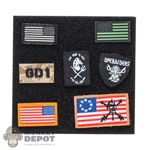 Insignia: Easy & Simple Special Mission Unit Part X PSD Surveillance Team Chief Patch Set