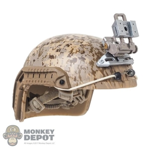 Helmet: Easy & Simple Mens AOR1 FAST Maritime Cut w/L4G30 NVG Mount System