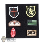 Insignia: Easy & Simple Special Mission Unit Part X Frozen Night Assault Patch Set