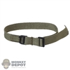 Belt: Easy & Simple Mens Green Rigger's Belt