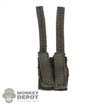 Pouch: Easy & Simple Green Double Pistol Mag Pouch