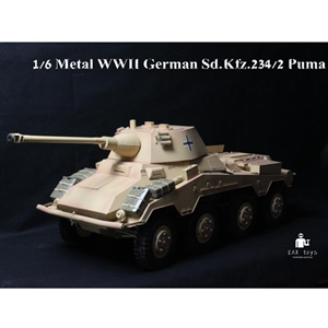Boxed Vehicle: EAX Toys 1/6 Sd.Kfz.234 Puma (MULTIPLE VERSIONS)