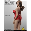 Clothing Set: Flirty Girl Corset Lingerie Set Red (FG-2015-20A)