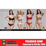 Outfit Set: Flirty Girl Female Strapless Bra and Panty Sets (FGC-2020-9-12)