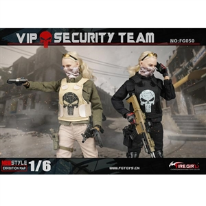 Uniform Set: Fire Girl VIP Security Assurance Team