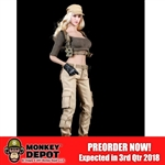 Uniform Set: Fire Girl Female Tactical Shooter Combat Uniform Set