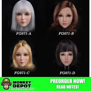 Head: Fire Girl Sweet Girl Head Sculpt (FG-071)