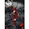 Fire Girl Warring States of Japanese Warrior Suit-Sanada xu Kyi Red (FG-KSJ001)