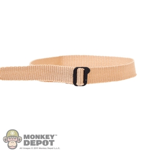 Belt: Fire Girl Tan Tactical Belt