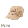 Hat: Fire Girl Brown Female Baseball Cap